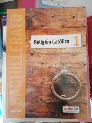 libro religión católica BACHILLERATO