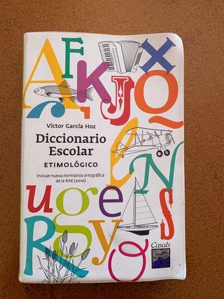 Diccionario Escolar Etimológico