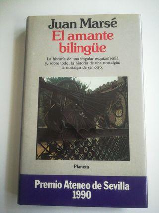 El amante bilingue. Juan Marse