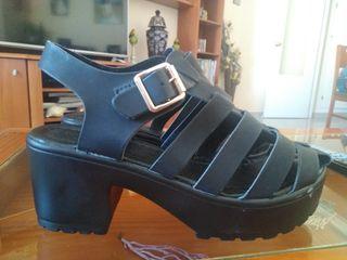 zapatos plataforma tacón nuevos