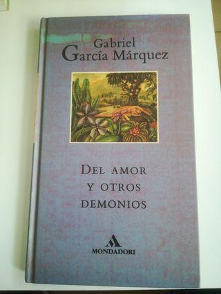Del amor y otros demonios. Gabriel García Márquez