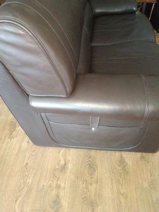 Sofá de piel diseño