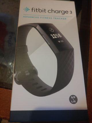 ¡NUEVO PRECINTADO!! Fitbit Charge 3 Reloj Acuatico