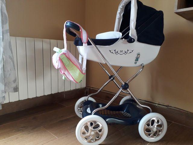 juguete para niña carrito de bebé