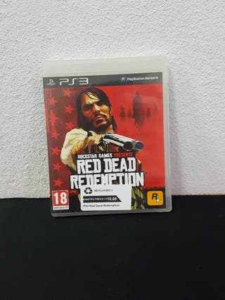Juego Red Dead Redepmtion PS3