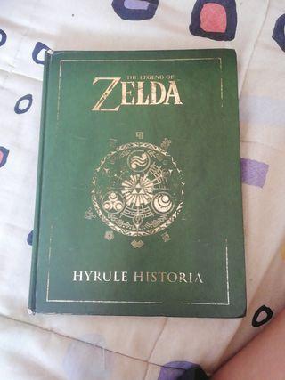 Libro Zelda Hyrule Historia segunda mano