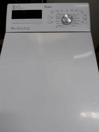 Lavadora whirlpool 6.5kg clase A+ energía