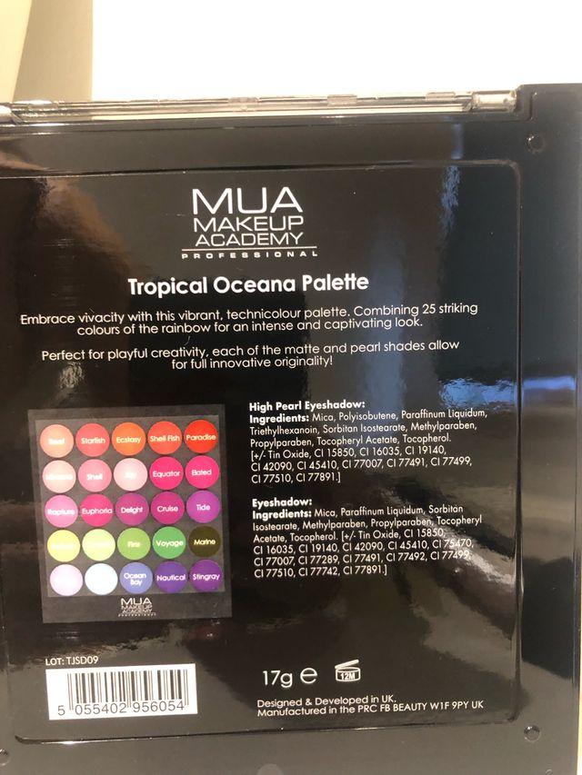 Tropical Oceana Eyeshadow Palette