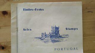 sellos y monedas de Portugal