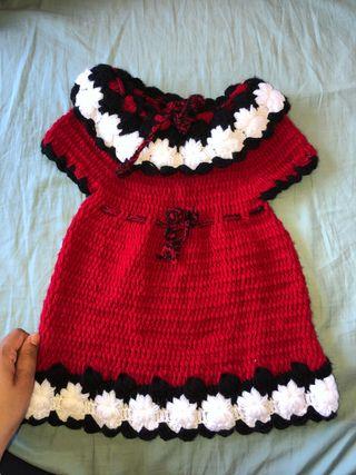 Vestido bebe invierno