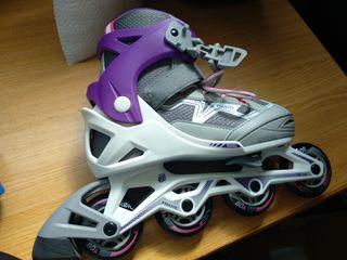patines chica casi nuevos!!con casco y proteccione