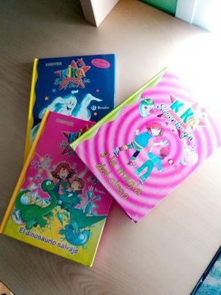Kika Superbruja: lote de 3 libros