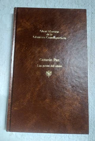 Libro Las peras del olmo de Octavio Paz 1983
