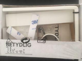 Soporte pared/techo cortina IKEA nuevo