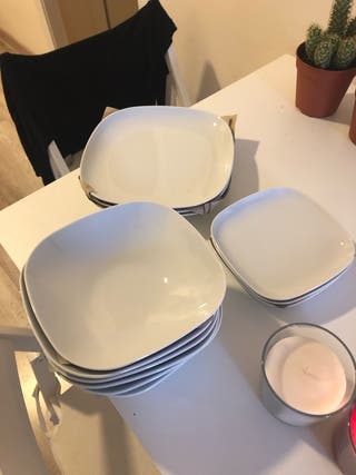 vajilla 18 piezas IKEA / crockery 18 pieces