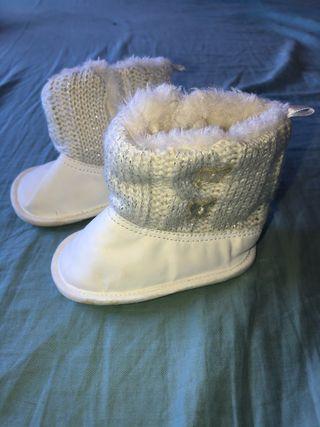 Botas de invierno para bebés 6-9mes
