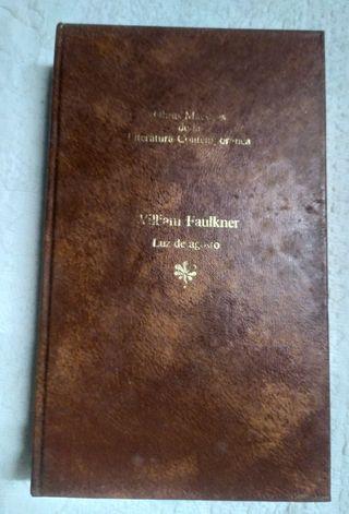 Libro Luz de agosto de William Faulkner 1983