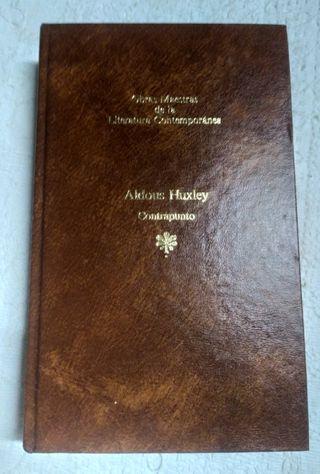 Libro Contrapunto de Aldons Huxley 1983