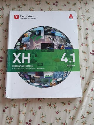 Libro Geografía e Historia 4° ESO