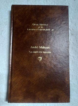 Libro La condición humana de André Malraux 1983
