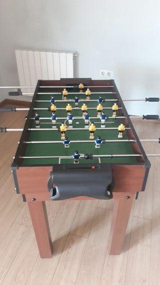 mesa multijuegos futbolín, billard ...