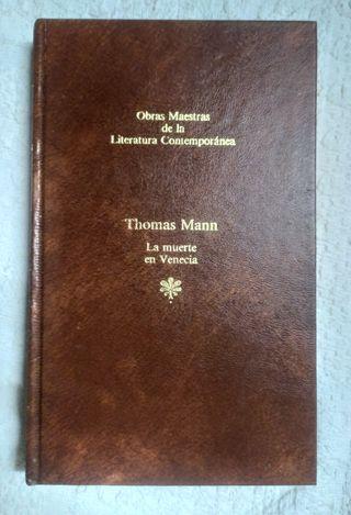 Libro La muerte en Venecia de Thomas Mann 1983