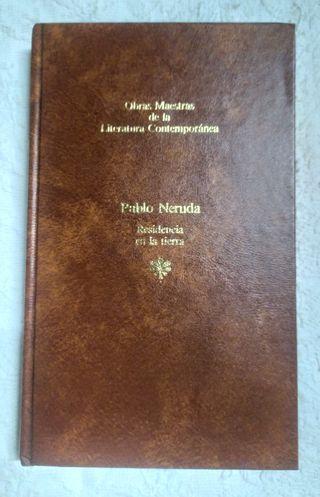 Libro Residencia en la tierra de Pablo Neruda 1983