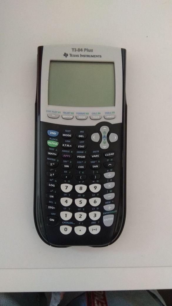 calculadora texas instrument ti-84 plus