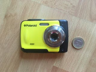 Camara acuatica Polaroid x800