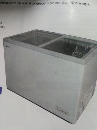 nuevos! congeladores tapas de cristal