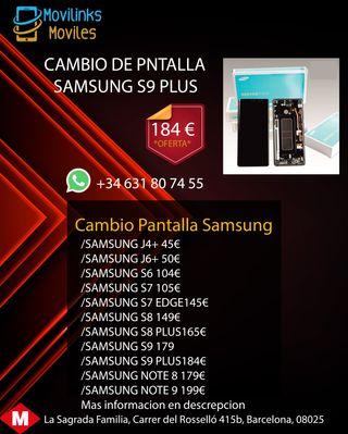 PANTALLA SAMSUNG S9+ 100%ORIGINAL (GARANTIA 6MESES