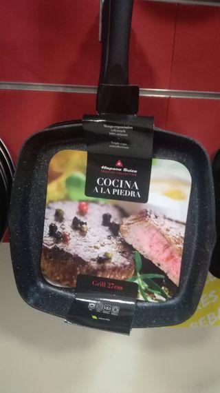 sartén grill(especial plancha)