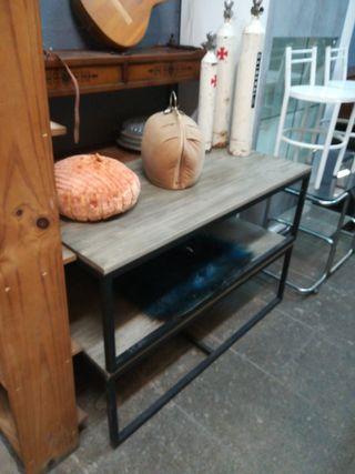 mesa centro estilo industrial