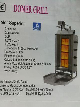 nuevo! maquina de doner kebab