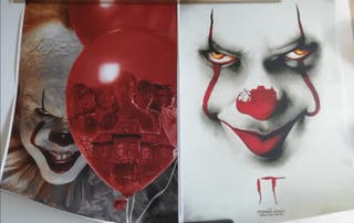 2 pósters PENNYWISE (IT). NUEVOS