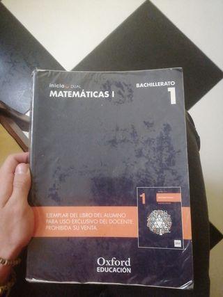Libro matemáticas 1 bach Oxford