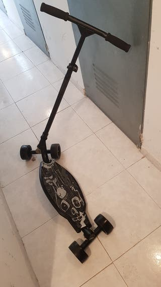 Patinete inclinable