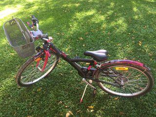 Bicicleta NUEVA niña 24 pulgadas Decathlon