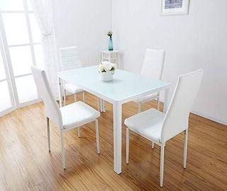 Mesa con 4 sillas [DT-20-4]