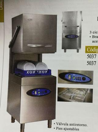 nuevo! lavaplatos industrial de capota