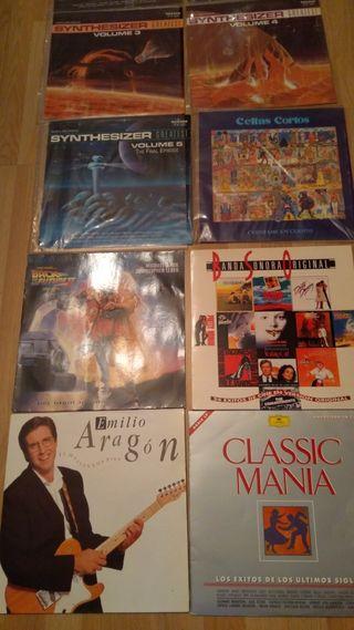 Discos vinilo de los años 90
