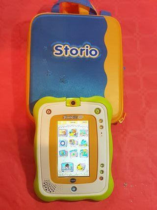 Tablet STORIO + Mochila + Juego
