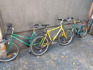 Lote de 2 bicicletas Taicor mtb