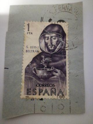 sello s. Luis Beltran