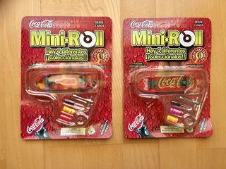 Mini Monopatines de dedo/Finger Skates - CocaCola