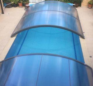 Cubierta piscina 8*4