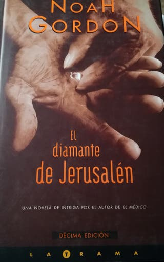 libro El diamante de Jerusalen. Noah Gordon.