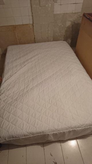 colchón y somier 135