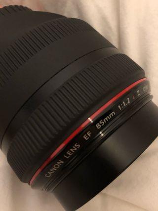 Canon 85mm 1:1.2 L USM