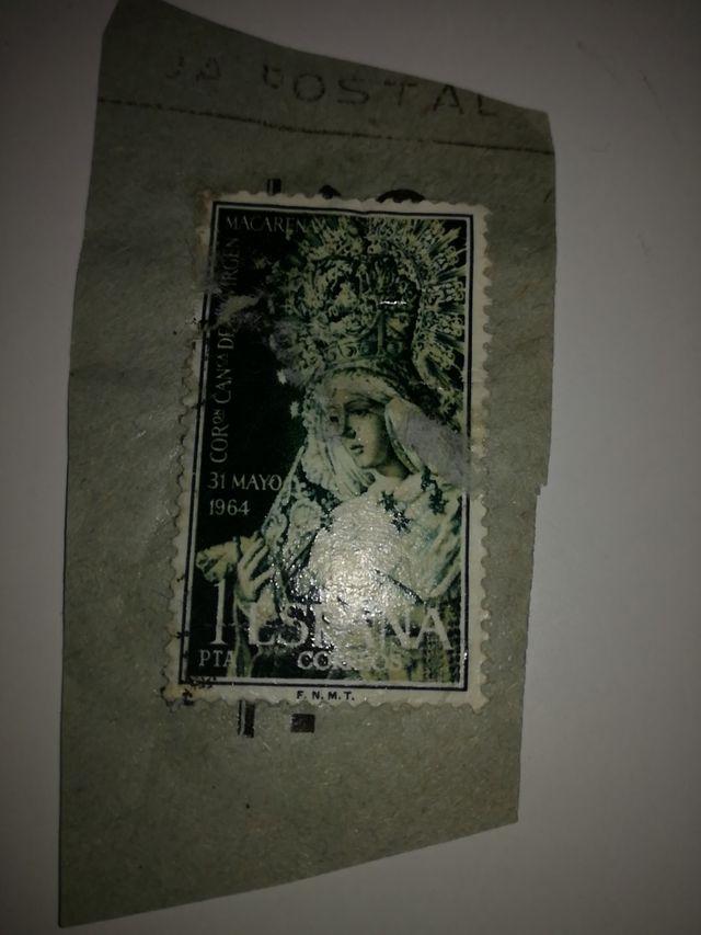sello virgen Macarena